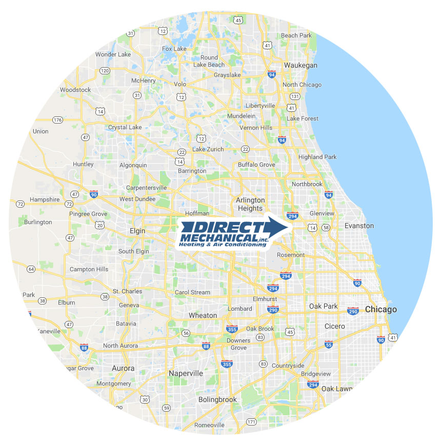hvac in Chicagoland and the surrounding suburbs